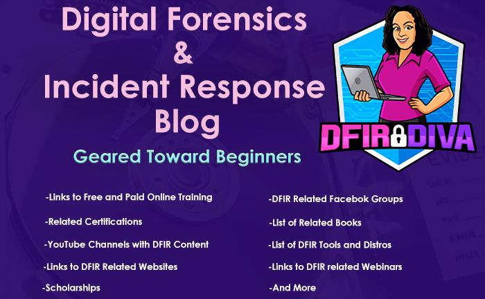 DFIR Blog Geared Toward Beginners