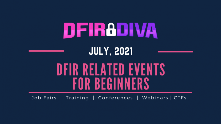 DFIR Events July
