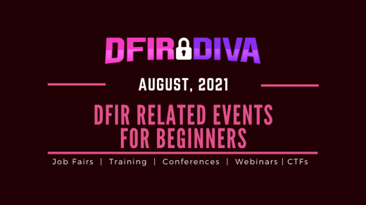 August DFIR Events